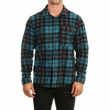 Billabong Furnace Flannel Shirt Pacific