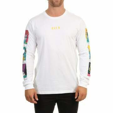 RVCA SB Tarot Long Sleeve Tee White