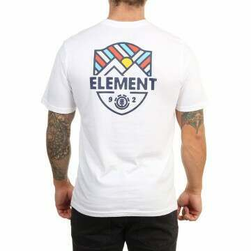 Element Beaming Tee Optic White
