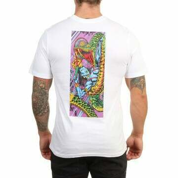 Element Hathor Snake Tee Optic White