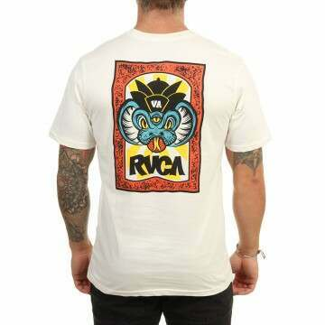 RVCA Roberto Tee Antique White