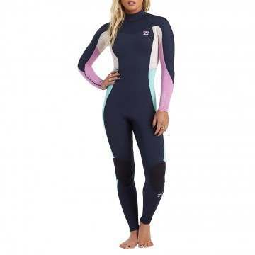 Billabong Ladies Synergy 4/3 BZ Wetsuit Navy
