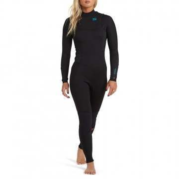 Billabong Ladies Synergy 5/4 CZ Winter Wetsuit Blk