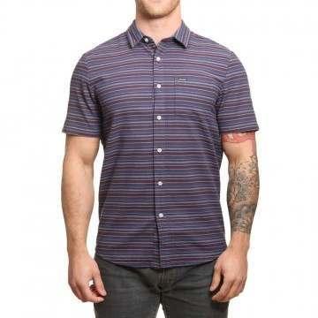 Volcom Sable Shirt Deep Blue