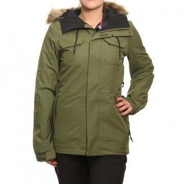 Volcom Shadow Insulated Snow Jacket Military