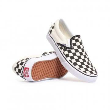 VANS CLASSIC SLIP-ON SHOES Black/White Checker