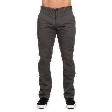 Volcom Frickin Modern Stretch Pants Charcoal Htr
