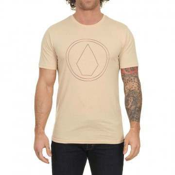 Volcom Pinner Tee White Flash