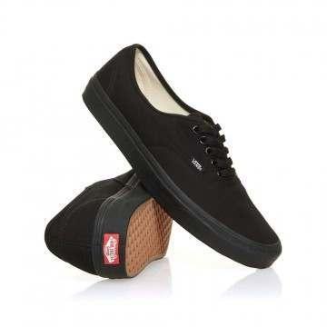Vans Authentic Shoes Black/Black