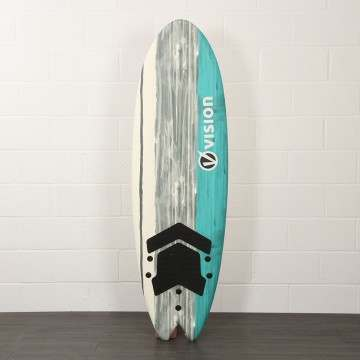 Vision Spark Soft Beginner Fish Surfboard 6Ft 2