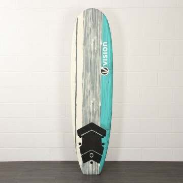 Vision Spark Soft Beginner Surfboard 8Ft 0
