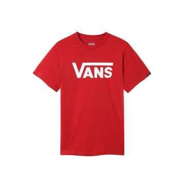Vans Boys Classic Tee Chilli Pepper/White