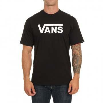 Vans Classic Tee Black/White