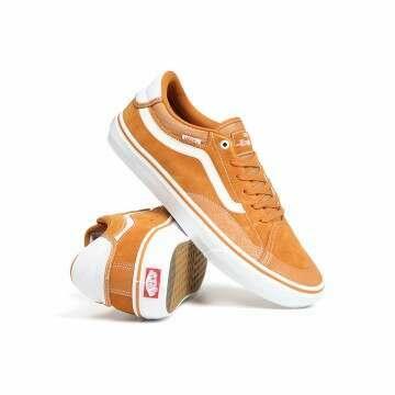 Vans TNT Advanced Pro Shoes Pumpkin/White