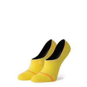 Stance Uncommon Invisible Socks Yellow