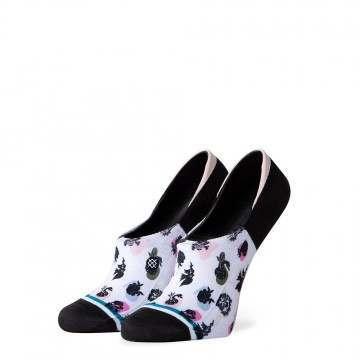 Stance New Order No Show Socks White
