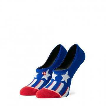 Stance Patriotism Low Socks Blue