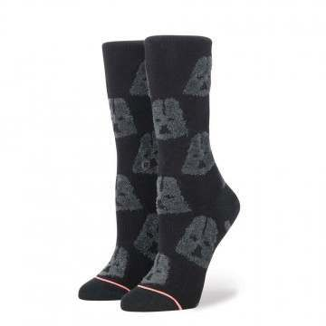 Stance X Star Wars Ladies Cozy Vader Socks Black