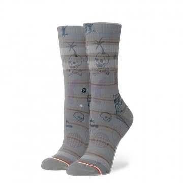 Stance Hippie Moshpit Socks Off White
