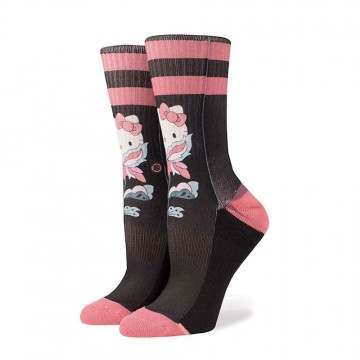 Stance X Hello Kitty Flower Friend Socks Black