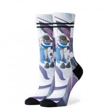 Stance Astrodog Socks Fuschia