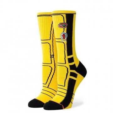 Stance KB Bride Jacket Socks Yellow