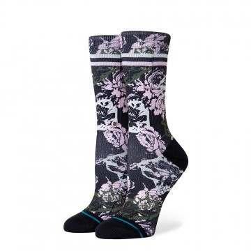 Stance La Vie En Rose Socks Black