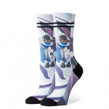 Stance Astrodog Snow Socks White