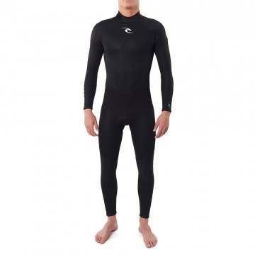 Ripcurl Freelite 5/3 Back Zip Winter Wetsuit Black