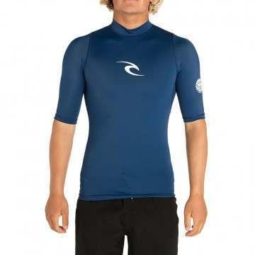 Ripcurl Corpo Short Sleeve Rash Vest Navy