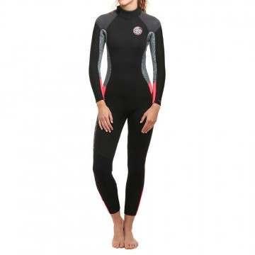 Ripcurl Ladies Dawn Patrol BZ 5/3 Wetsuit 18 Neon