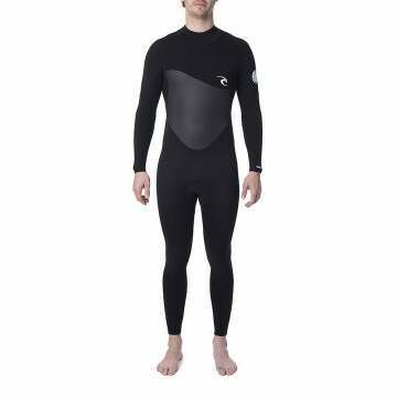 Ripcurl Omega 5/3 Black Zip Winter Wetsuit Black