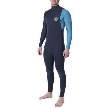 Ripcurl Ebomb 3/2 Zip Free Wetsuit Blue