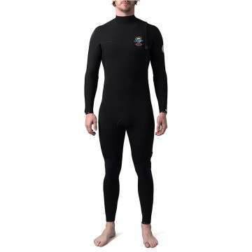 Ripcurl Ebomb 4/3 Zip Free Wetsuit Black