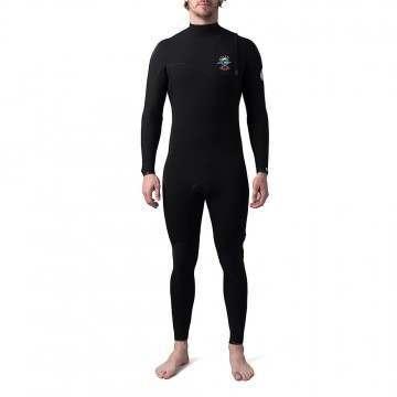 Ripcurl Ebomb E6 5/3 Zip Free Winter Wetsuit Black
