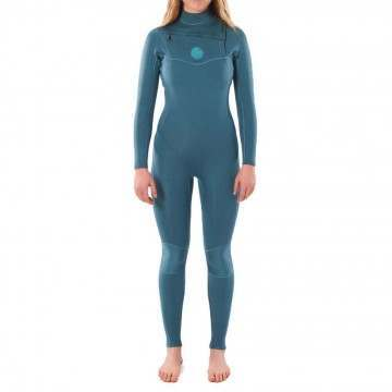 Ripcurl Ladies Dawn Patrol 4/3 CZ Wetsuit Green