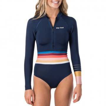 Ripcurl Surf Revival 2mm Long Sleeve Shorty Stripe
