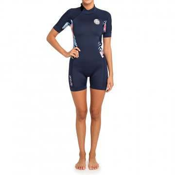 Ripcurl Dawn Patrol 2mm Shorty Wetsuit Navy