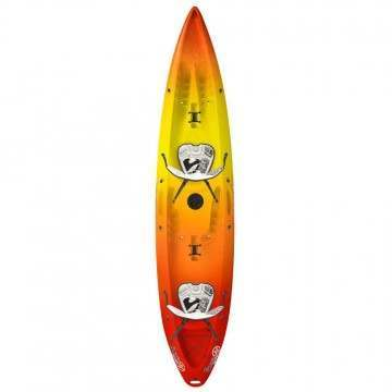 Wavesport Kayak Scooter Gemini White Out Citrus