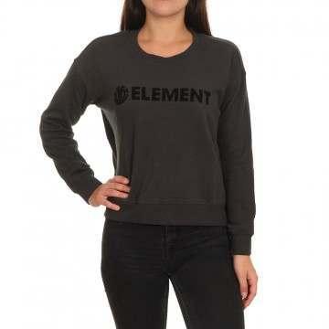 Element Logo Crew Off Black