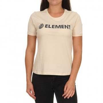 Element Logo Tee White Smoke