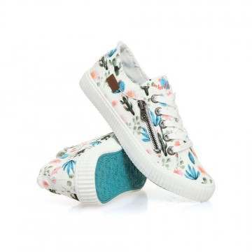 Blowfish Coyote Shoes White Prickly Print