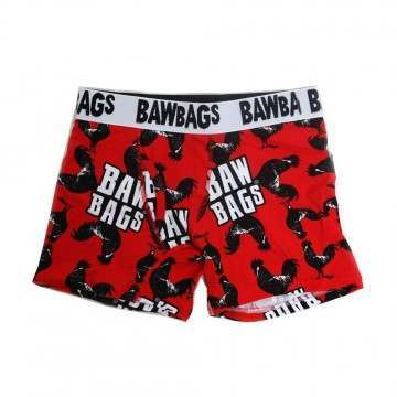 BAWBAGS COCKEREL BOXERS Red