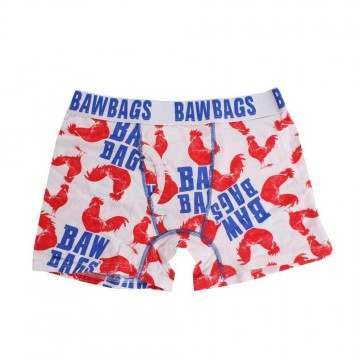 BAWBAGS COCK BOXERS White