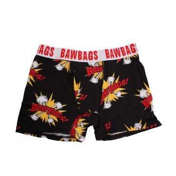 BAWBAGS KAPOW BOXERS Black