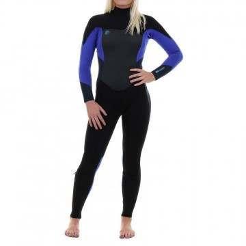 ONeill Womens Original FZ 3/2 Wetsuit 2018 Slate