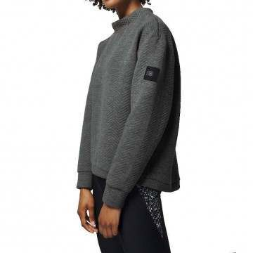 Oneill Aralia Quilted Crew Silver Melee