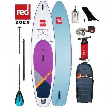 Red Paddle Sport 11ft 3 Inflatable Paddleboard Purple 2020