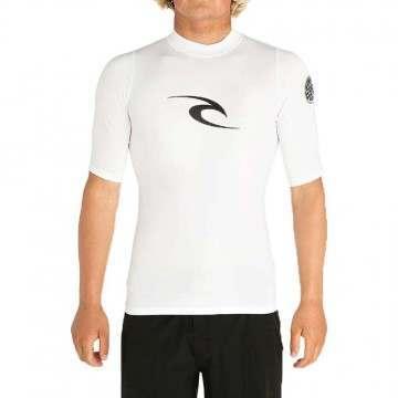 Ripcurl Corpo Logo Rashvest White