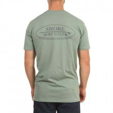 Shore Local Surf Club Tee Sage